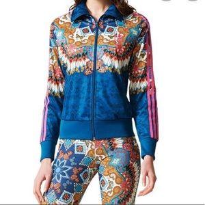 Adidas Borbomix multicolor track jacket. Sz M